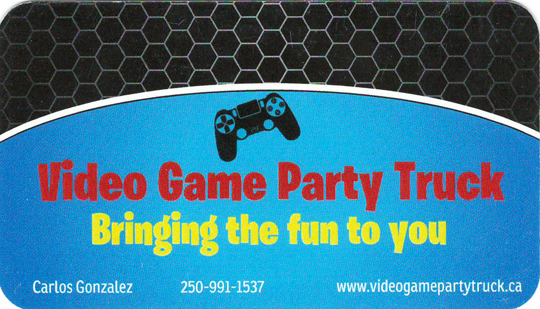 Video Game Party Truck